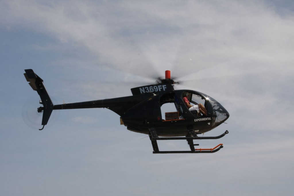 MD530F with VHA Gen3 Composite Main Rotor Blades